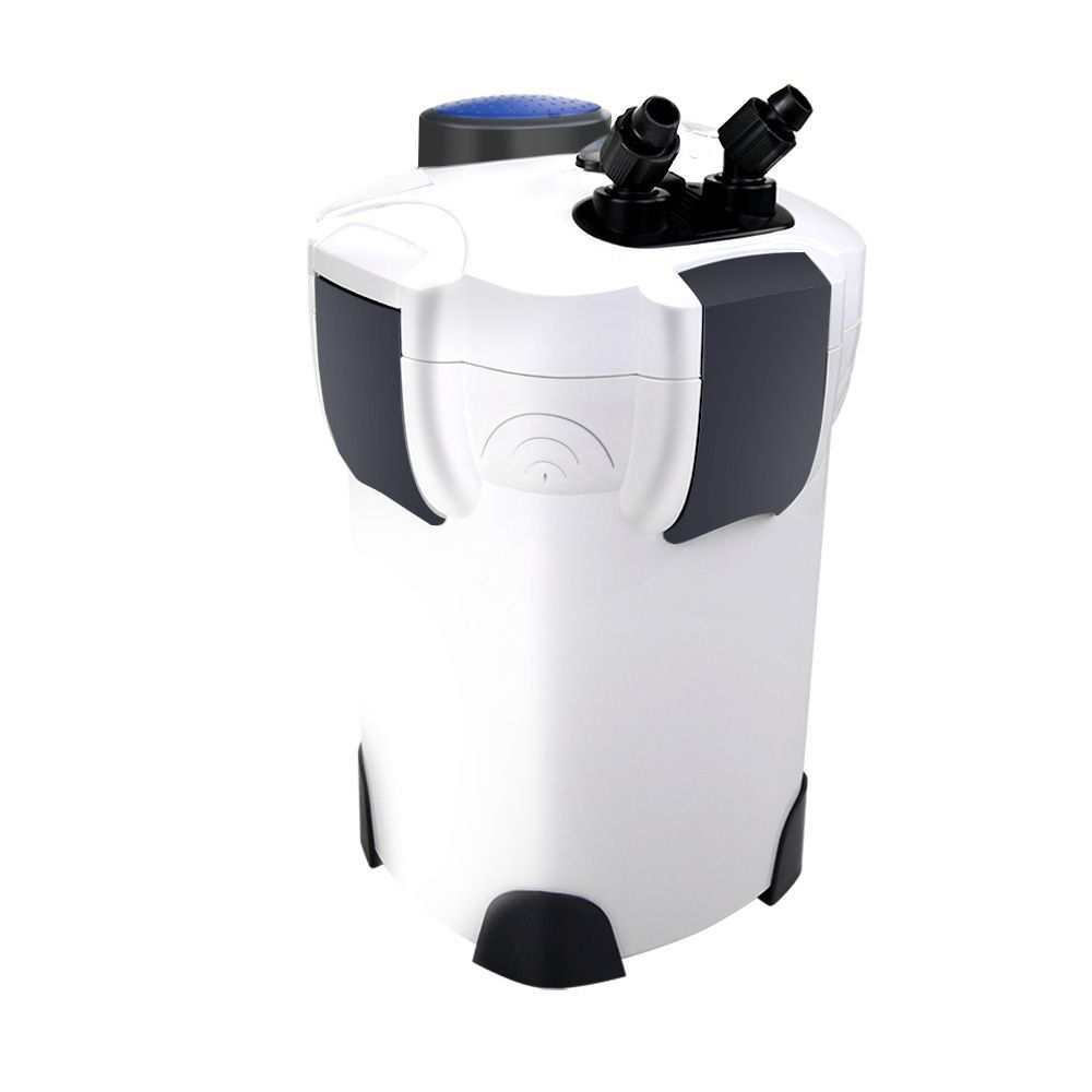 Giantz Aquarium External Canister Filter Aqua Fish Tank UV + MEDIA KIT 1850L/H