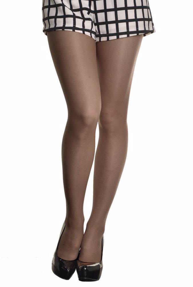 671a8e295289d DealsDirect | Angelina Intimates 6 Pack Sheer Nylon Pantyhose Black