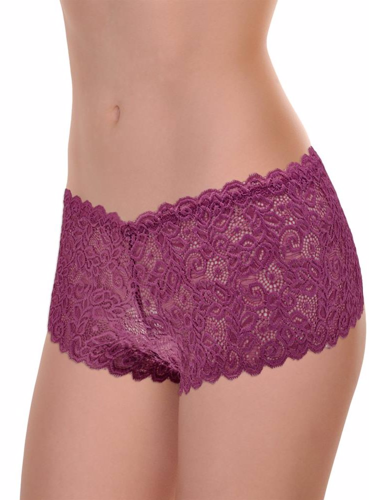 505ba2e59dce0 Angelina Lace Cheeky Boxer Briefs (6-Pack)