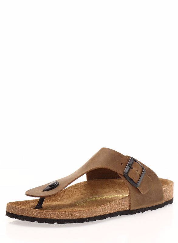 bee67d99589 This product is not available. Preview with Zoom. Comfortfusse. Leather  Mens Maui Sandal Sand