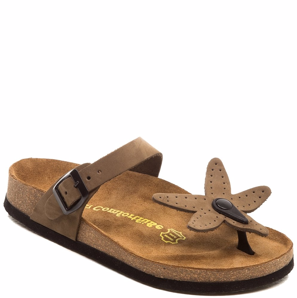 8579d4de015 Preview with Zoom. Comfortfusse. Leather UTAD01 Sandals Sand