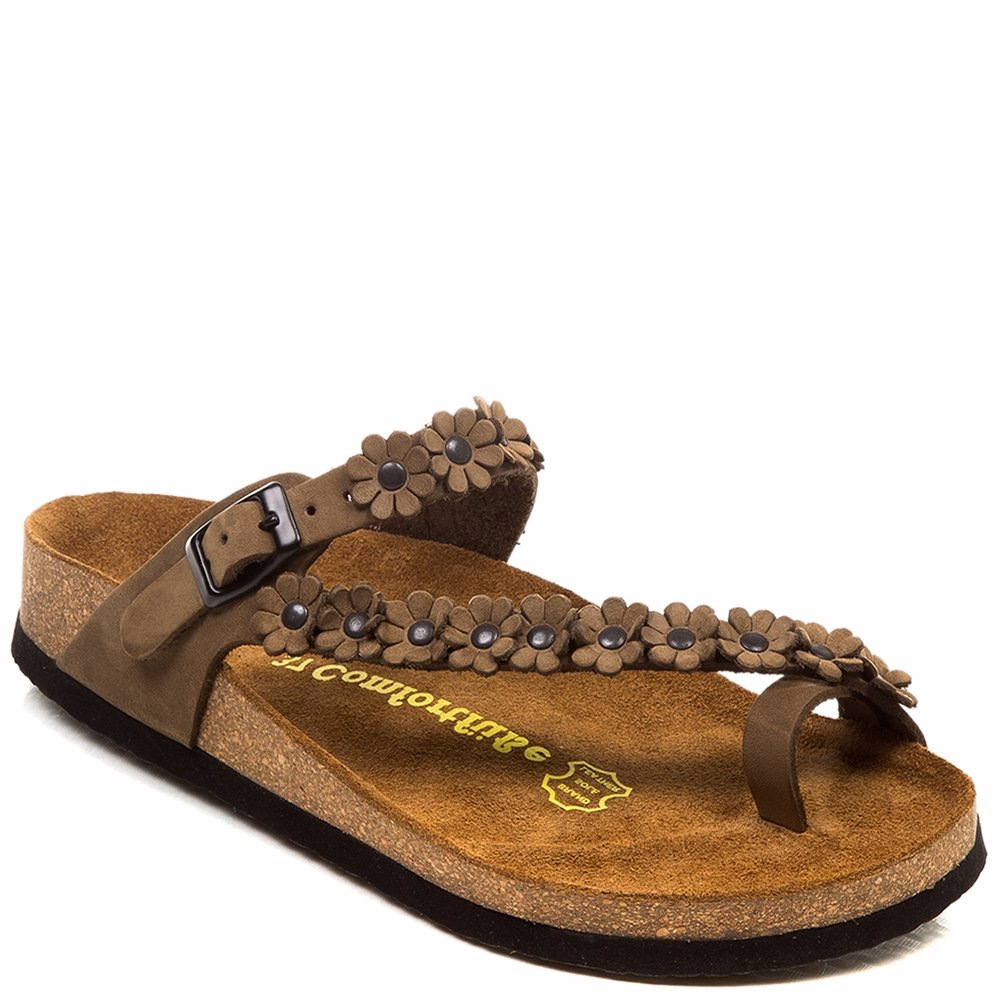 437aa32e047 Preview with Zoom. Comfortfusse. Leather ILVAD01 Sandals Sand