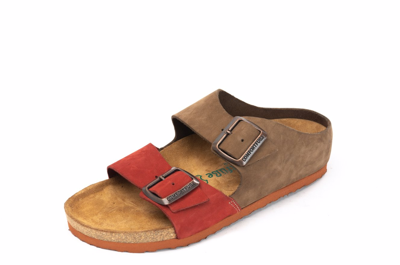 5507e9d51ff Preview with Zoom. Comfortfusse. Women Lody 1330304 Slippers Sand-Red