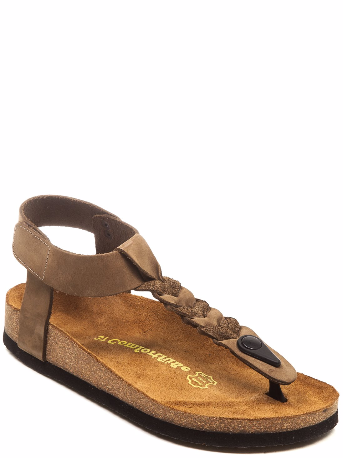 1ba535d1149 This product is not available. Preview with Zoom. Comfortfusse. Leather  Gaspara 420300 Sandal Sand