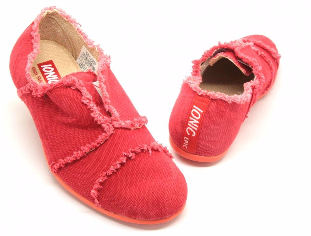 Men's Sando Shoes Red