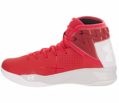 on sale 4c15e 55ea8 Red & White Men's Rocket 2 Basketball Shoe