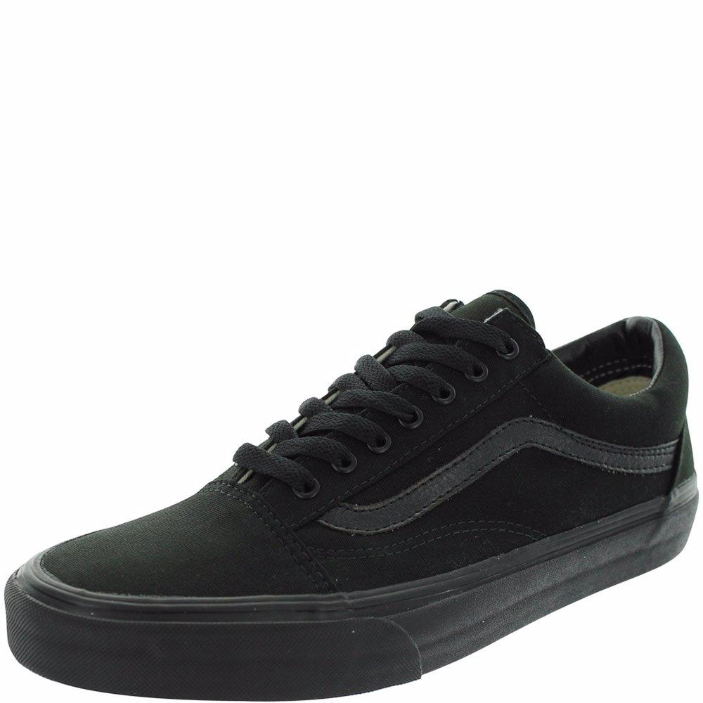 bcf9ea4c072c76 www.nzsale.co.nz  u2014 Vans Black Canvas Old Skool Skate Shoes