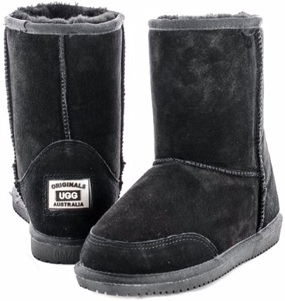 56848829740 Boots Black Detailed Mid