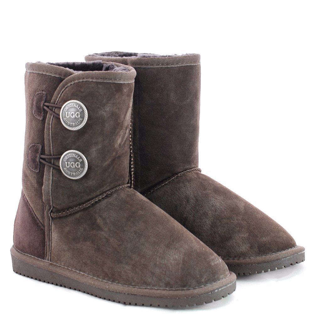 a3fca4dc7ce BuyInvite   Originals UGGs Australia Boots Two Button Short Chocolate