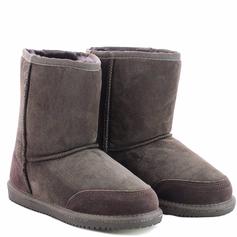 415456e5fc5 OZSALE | Originals UGGs Australia Boots Chocolate Detailed Mid