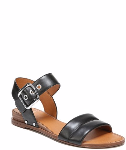 4afc779ebe1 Patterson Black Leather Sandal