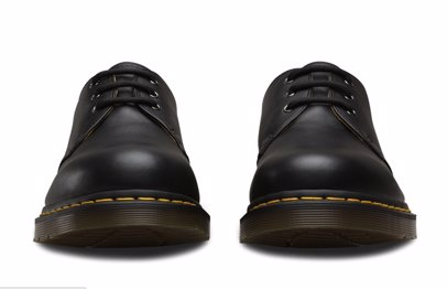 819a0006f BuyInvite | Dr. Martens 1461 Black Nappa Genuine Leather Shoes 3 Eye Low Top