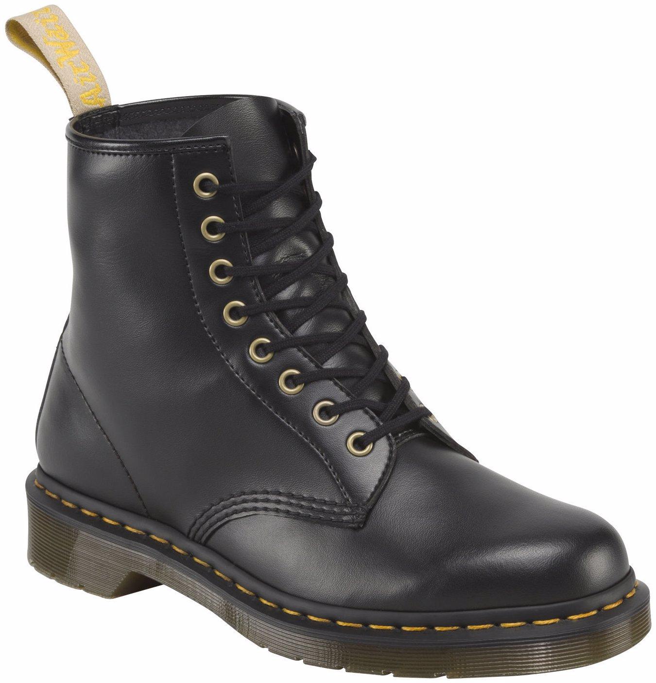 64c05039574e6 VEGAN Unisex 1460 8 Eye Lace Up Genuine Boots Eco Friendly Shoes Doc