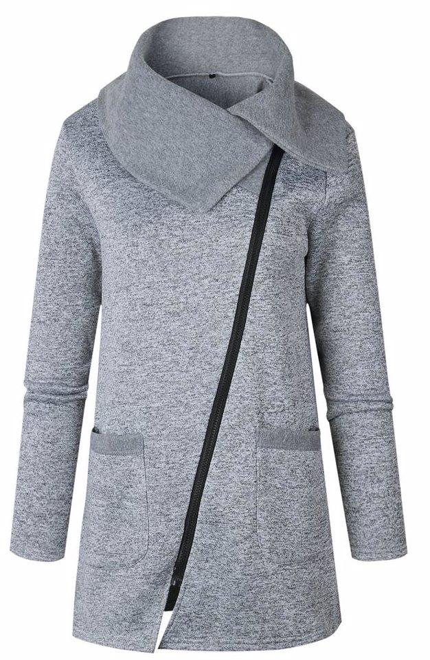 www jacket light gray