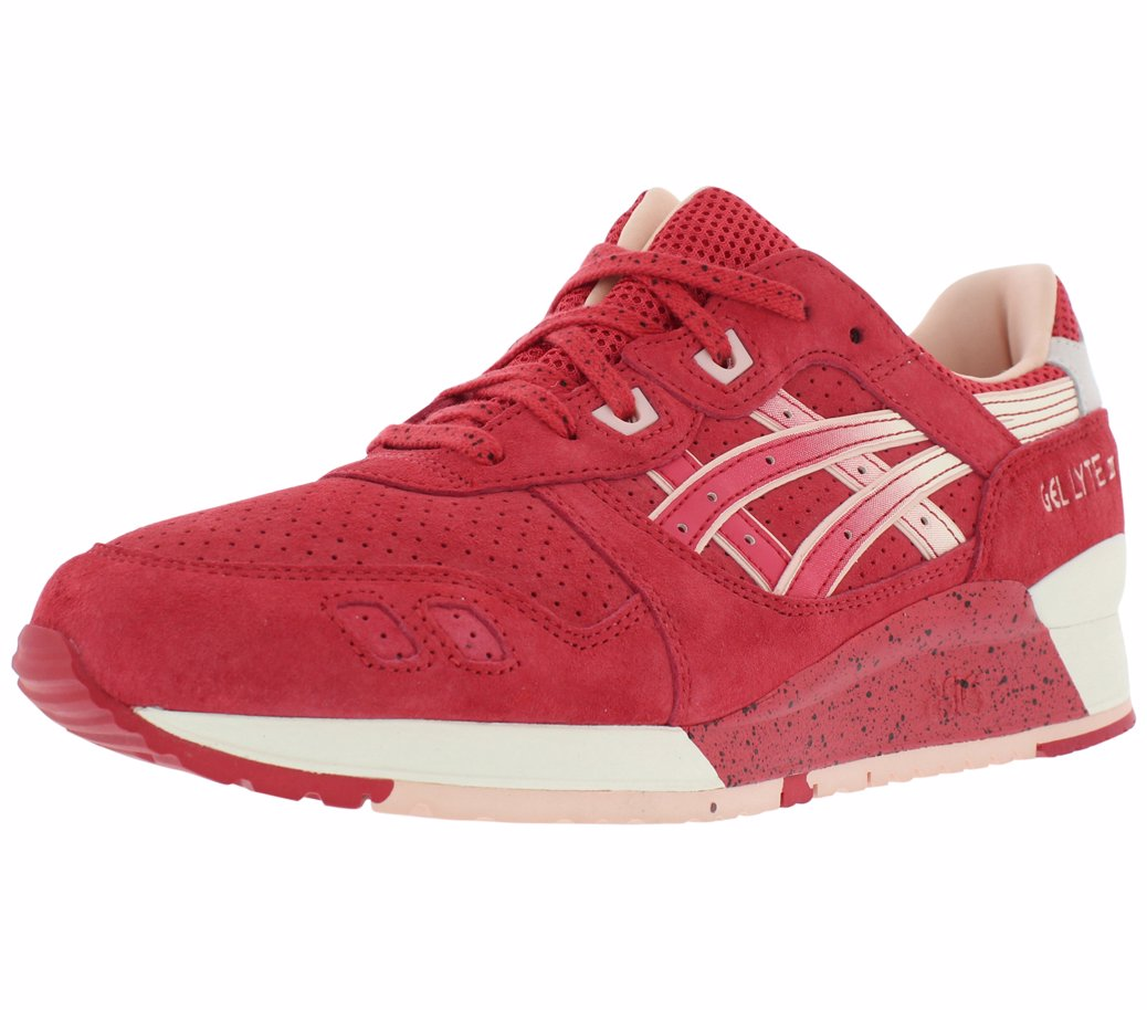 71656dc9c4c1 Preview with Zoom. Asics. Gel Lyte Iii Running Men s Shoes Red   Cream
