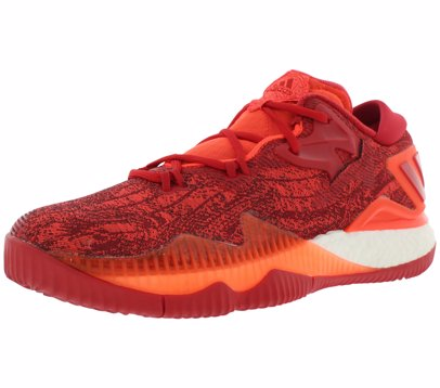 new arrive Adidas Crazylight Boost 2016 low harden pe all red basketball shoe