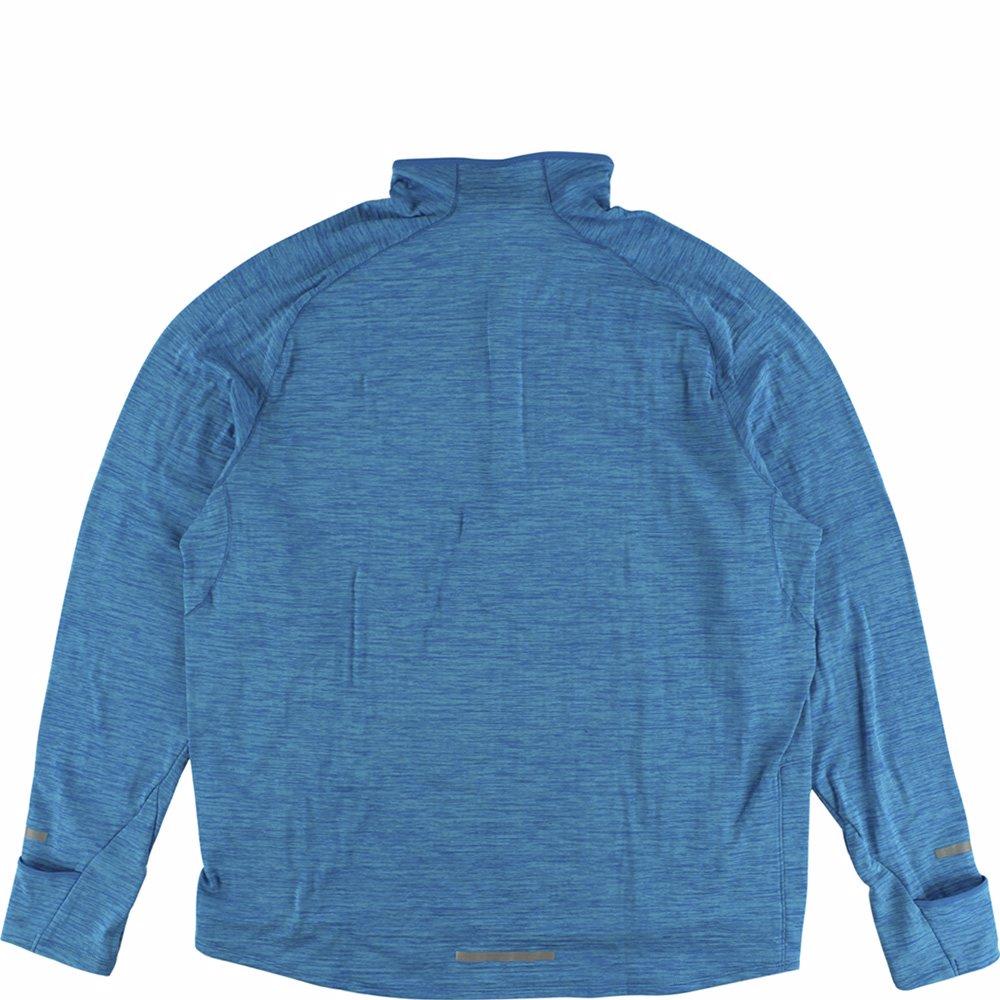 1e6e6a263967f Nike Mens Element Sphere Half Zip Running Shirt Heather Turquoise XXL