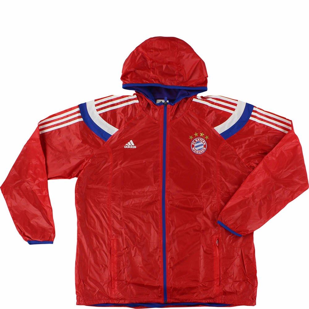 Bayern Munich adidas Anthem Full Zip Z.N.E. Jacket Red