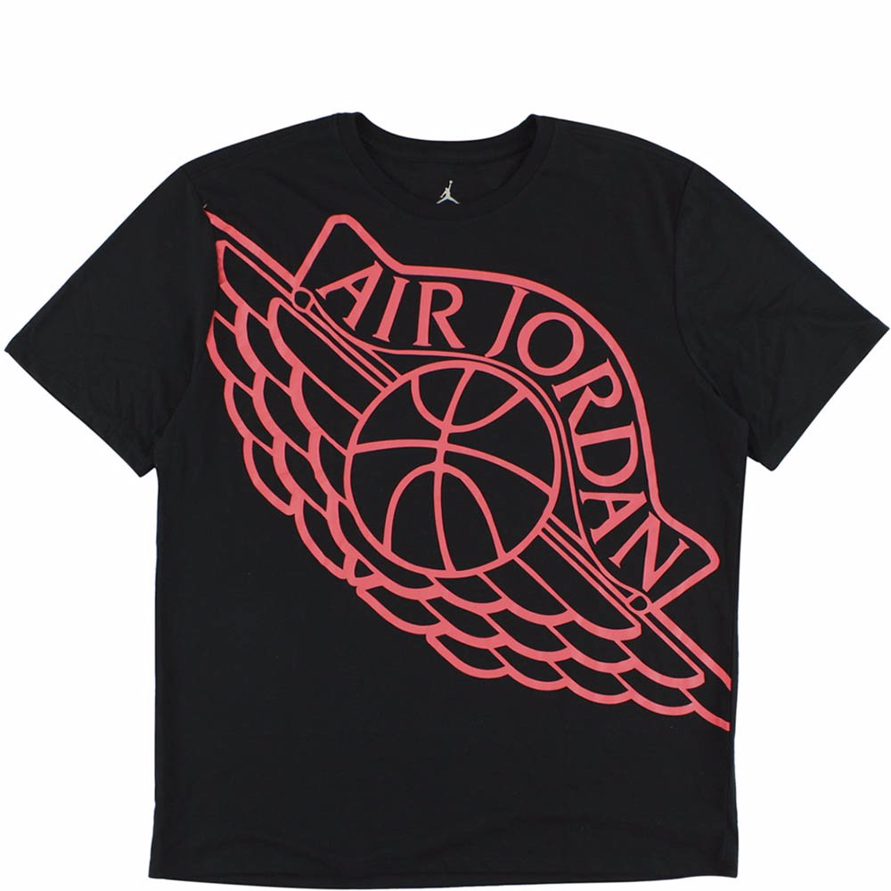 a4baf480249c This product is not available. Preview with Zoom. Loading... Jordan. Mens  Black   Red Wingspan T Shirt
