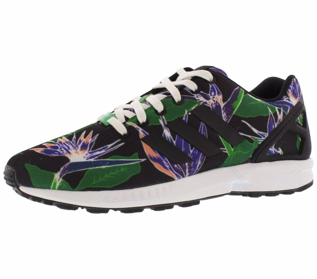 48fda9ef0 ... czech preview with zoom. adidas. zx flux floral print mens shoes c9e66  278ee