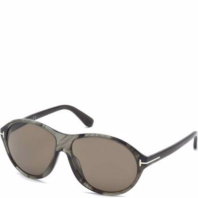 5c3197399c02 BuyInvite | Tom Ford Oval Sunglasses Grey Marble