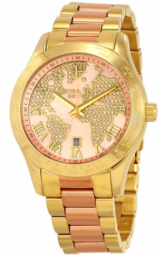 535519222ca4 Preview with Zoom. Michael Kors. Ladies MK6476 Watch Two-Tone