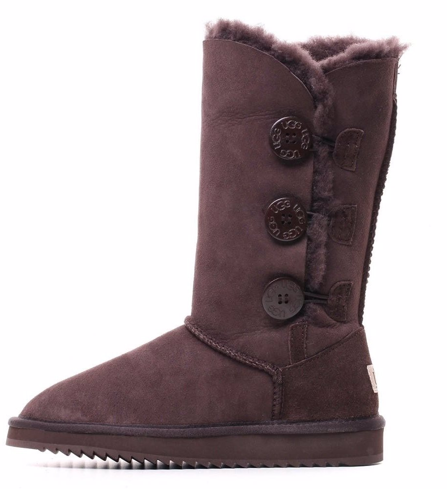 793bade84cd BuyInvite | Oz Natives UGG Three button Tall Sheepskin Boot
