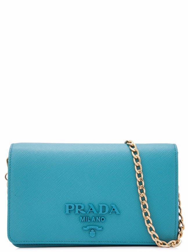 336f9434c6b SINGSALE | PRADA Prada Saffiano Lux Wallet Bag Sling