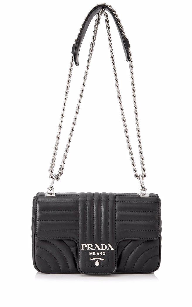 c236caedb453c4 ... purchase preview with zoom. prada. prada soft calf impunture shoulder  bag 9e387 7f9fb ...