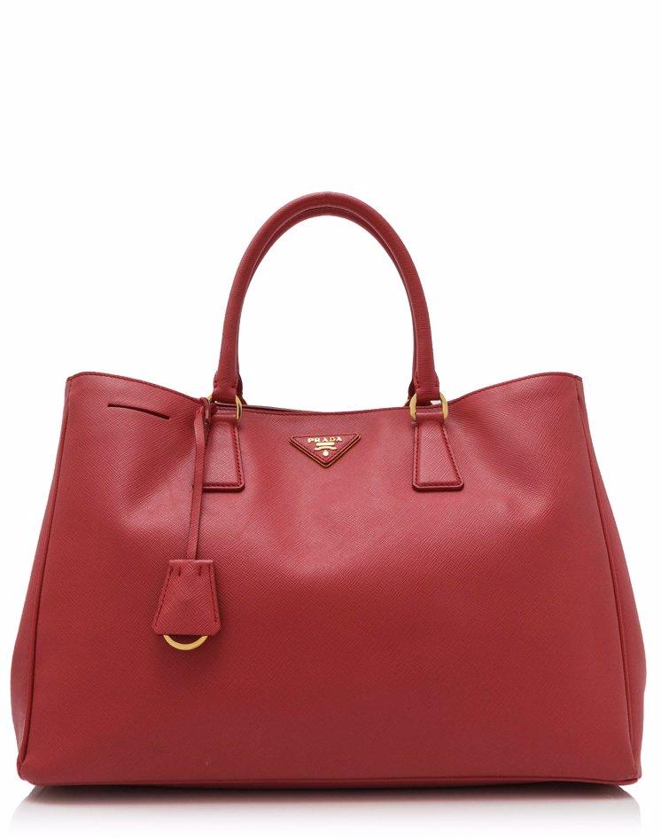 0c4a1876f37d Preview with Zoom. PRADA. Pre-Owned Prada Saffiano Lux Shopping Bag ...