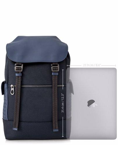 Sold Out. BOTTEGA VENETA. Bottega Veneta Hi-tech Canvas Sassolungo Backpack f954a5db04118