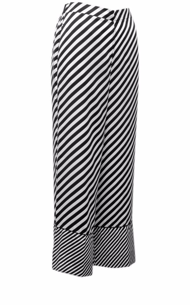 best website 8f5c3 68776 Emme Marella Striped Culottes Skirt