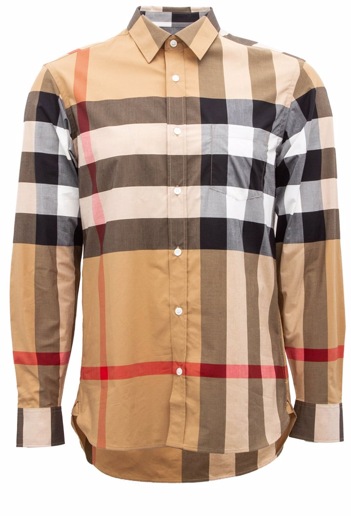 8f5b4ed95 BuyInvite   BURBERRY Burberry Windsor Long Sleeve Shirt Polo Shirt/Shirt