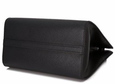 d5e6bd2c2a73 Sold Out. PRADA. Prada Saffiano Cuir City Calf Monochrome Bag ...