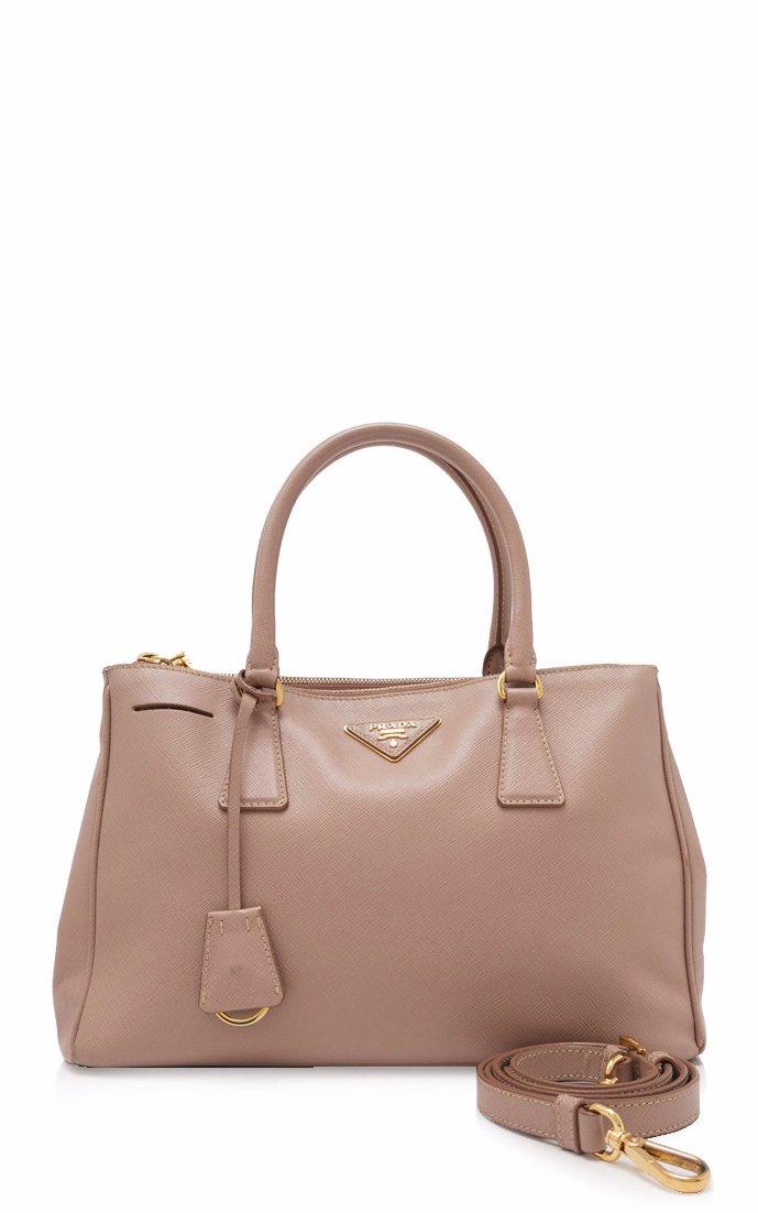 145cfcda58c NZSALE   PRADA Pre-Owned Prada Saffiano Lux Galleria Shopping Bag ...