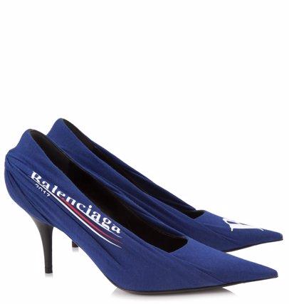90866539f9ca7 BuyInvite   Balenciaga Balenciaga Campaign Logo Pumps Heel