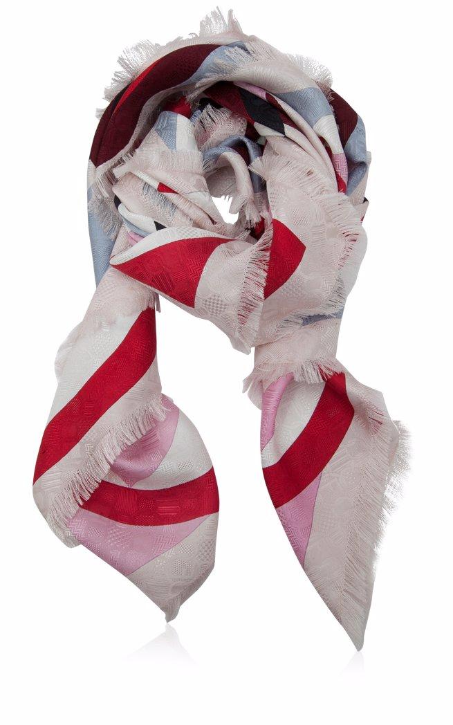 86e4dea445 Fendi F is Fendi Silk Shawl Scarves