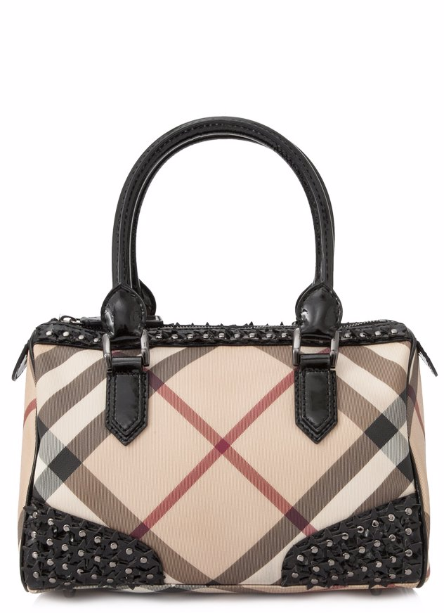 Preview with Zoom. BURBERRY. Pre-Owned Burberry Nova Studded Star Chester  Small Bowling Bag Top Handle 34361183e950e