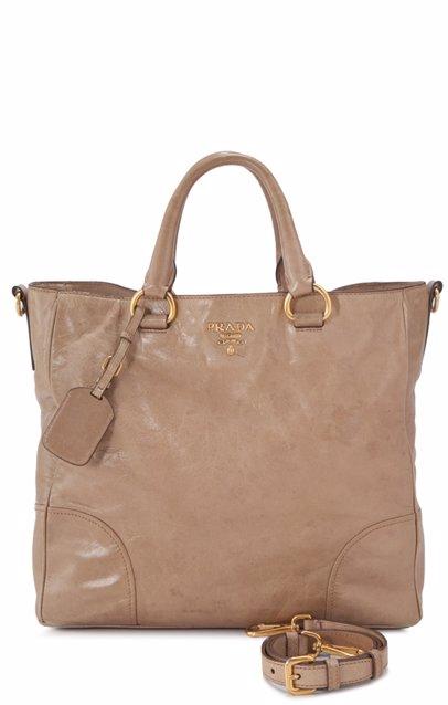 72ee8acd96c5 Pre-Owned Prada Vitello Shine Shopping Bag Tote