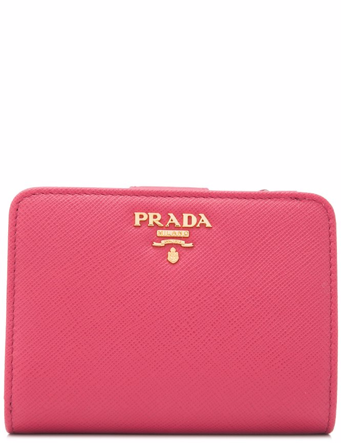 28f7dcb4992715 Preview with Zoom. PRADA. Prada Saffiano Metal Wallet