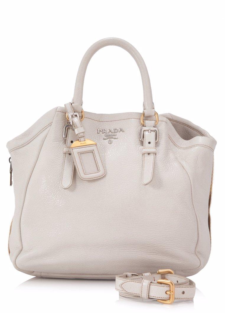 7a8eede051f3 OZSALE | PRADA Pre-Owned Prada Cervo Lux Shoulder Bag
