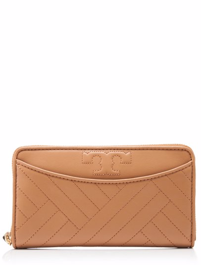 9be8fa8a8912 BuyInvite | Tory Burch Tory Burch Long Wallet Aged Vachetta
