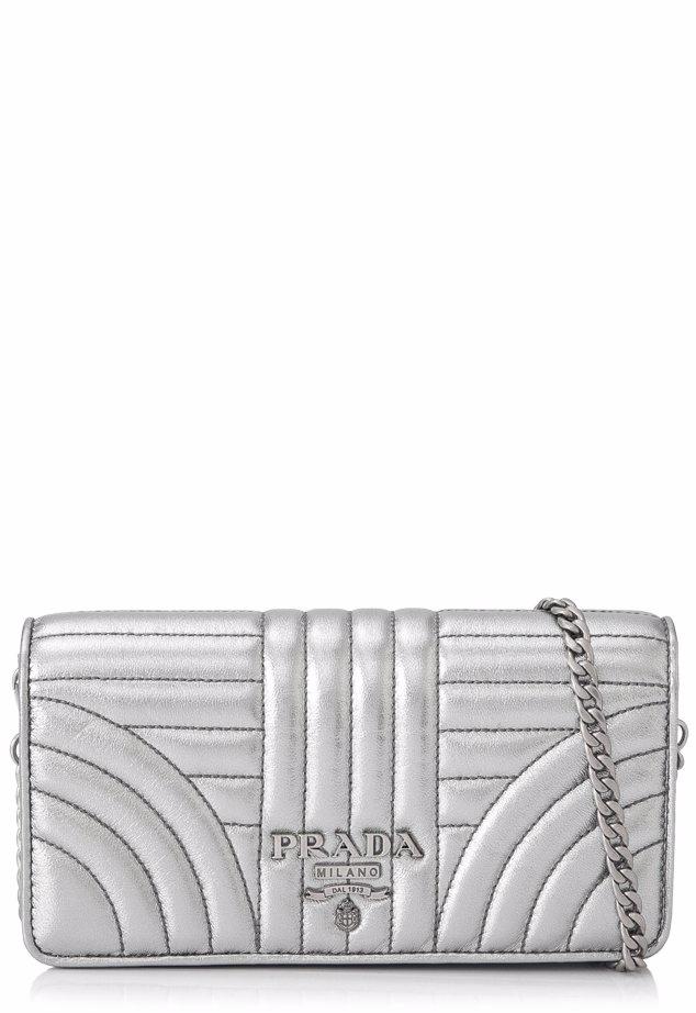 746d4e2bd06e SINGSALE | PRADA Prada Nappa Impunture Diagramme Wallet On Chain Sling