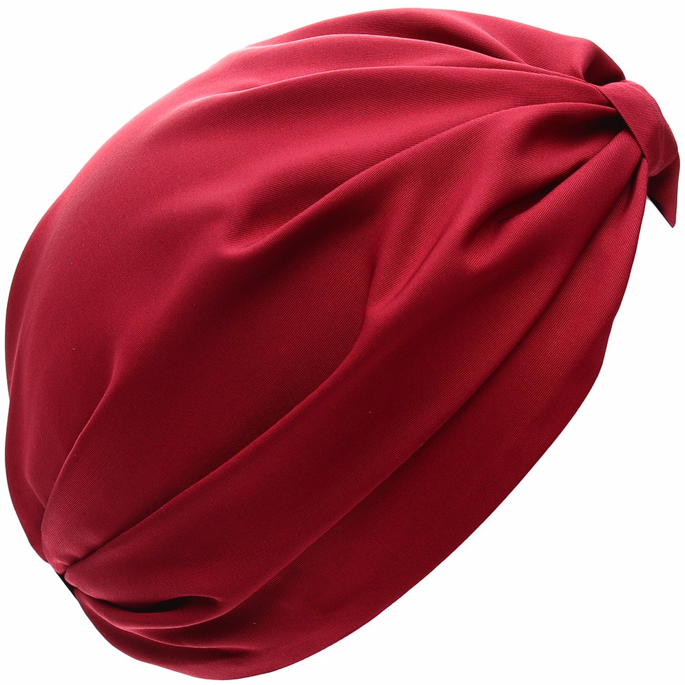 dcb6be748fa BuyInvite | Valentino Womens Silk Turban Red