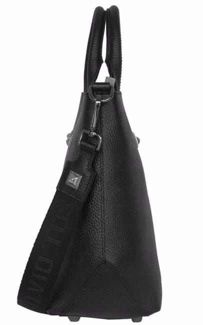 6aeccc6c1 BuyInvite | SILVIO TOSSI - Swiss Label Leather Hand- And Shoulderbag  St-13019-02 Dark Brown