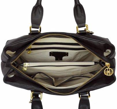 eb46a7f4c BuyInvite | SILVIO TOSSI - Swiss Label Leather Hand- & Shoulderbag  St-13008-01 Black