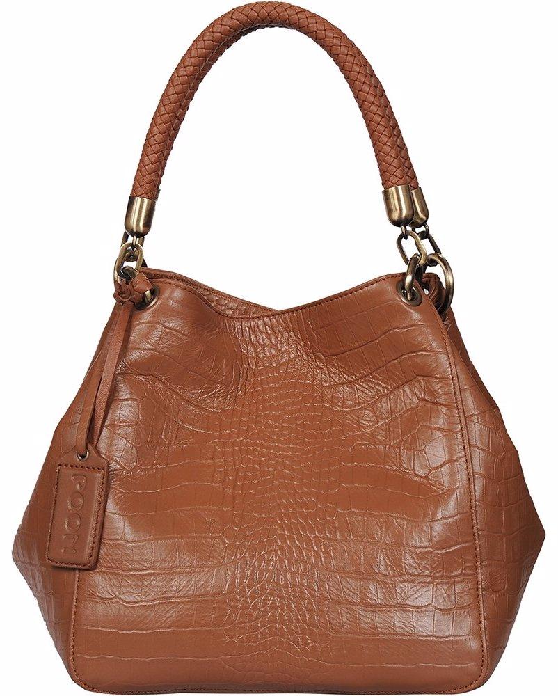 d9fa93882ac OZSALE   Poon Switzerland Leather Handbag 12004 01 Cognac