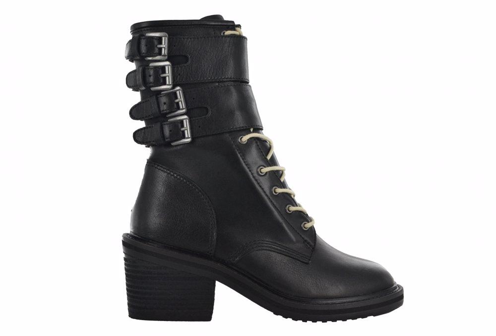 www.nzsale.co.nz — Gee WaWa Dylan Nubuck Leather Tall Boot - Black