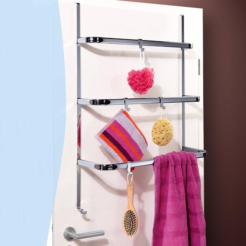 Nzsale Luxury Bamboo Storage Over The Doorscreen Towel