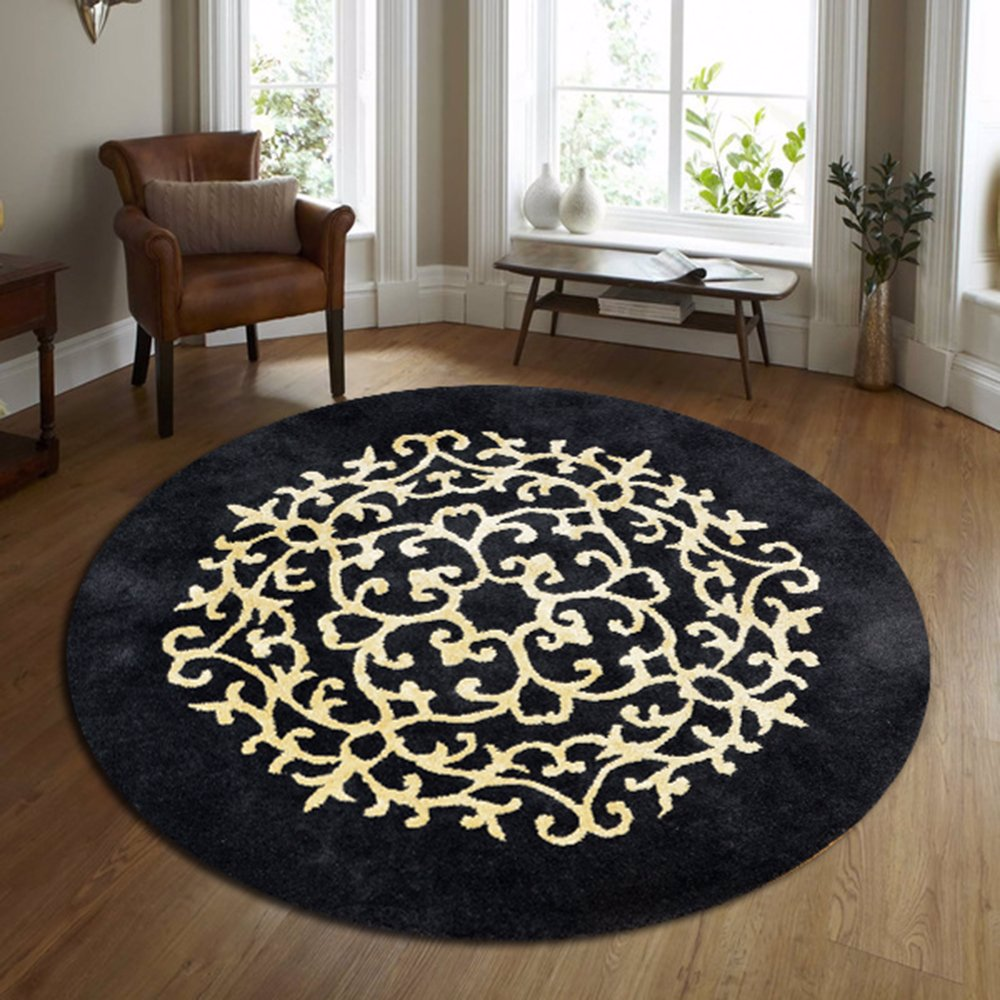 Decor Kashan Round Wool Rug